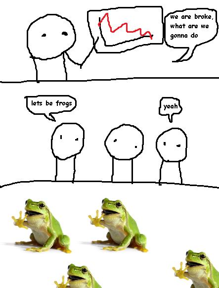 Broke Frogs